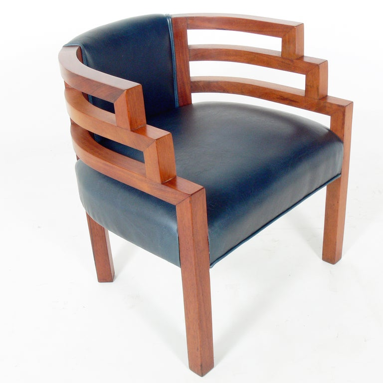 Rare art deco biltmore lounge chair by k e m weber at for Examples of art deco furniture