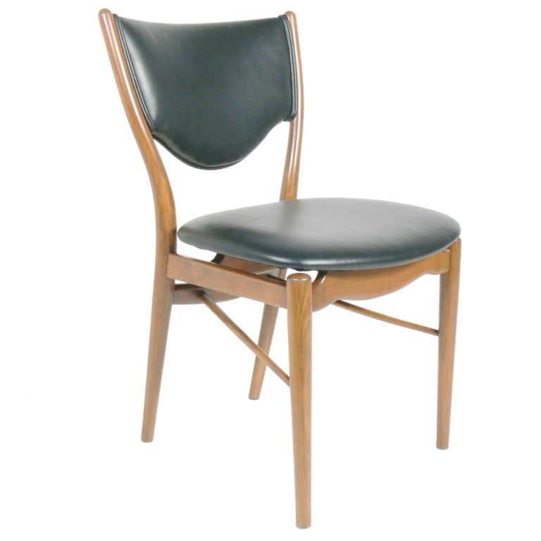 danish modern desk chair by finn juhl 1