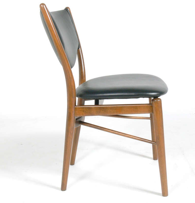 danish modern desk chair by finn juhl for sale at 1stdibs