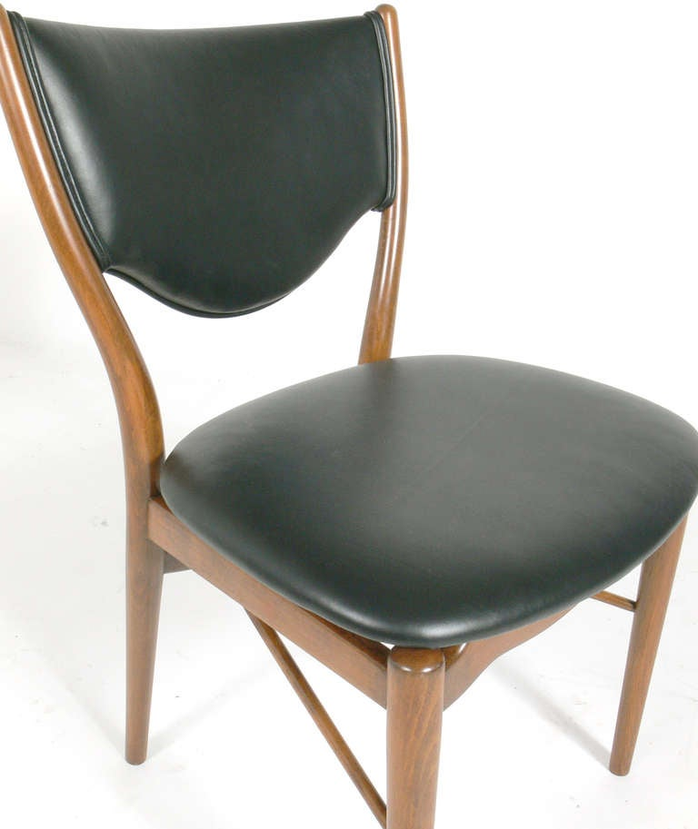 danish modern desk chair by finn juhl at 1stdibs