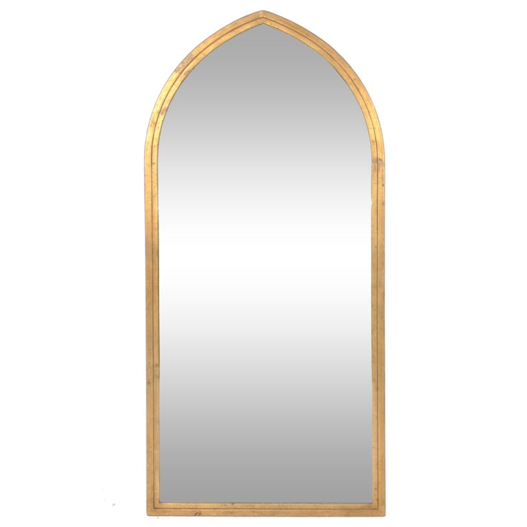 Arched Gilt Mirror