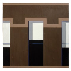Modernist NYC Painting by Michael Clark