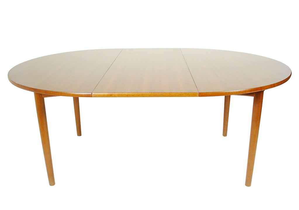hans wegner dining table expands to seat 12 people at 1stdibs