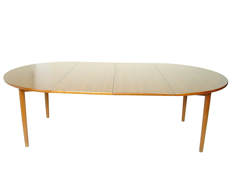 Hans wegner dining table expands to seat 12 people at for 12 person dinning table