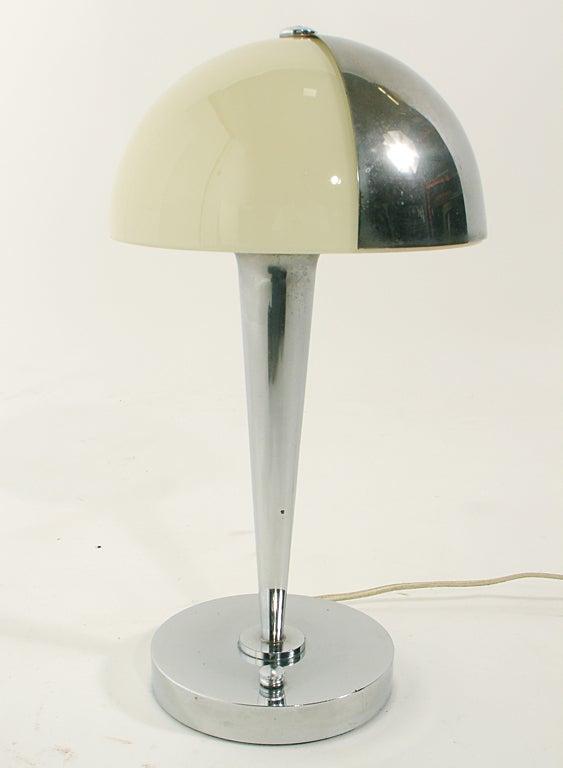 French Art Deco Lamp by Jean Perzel