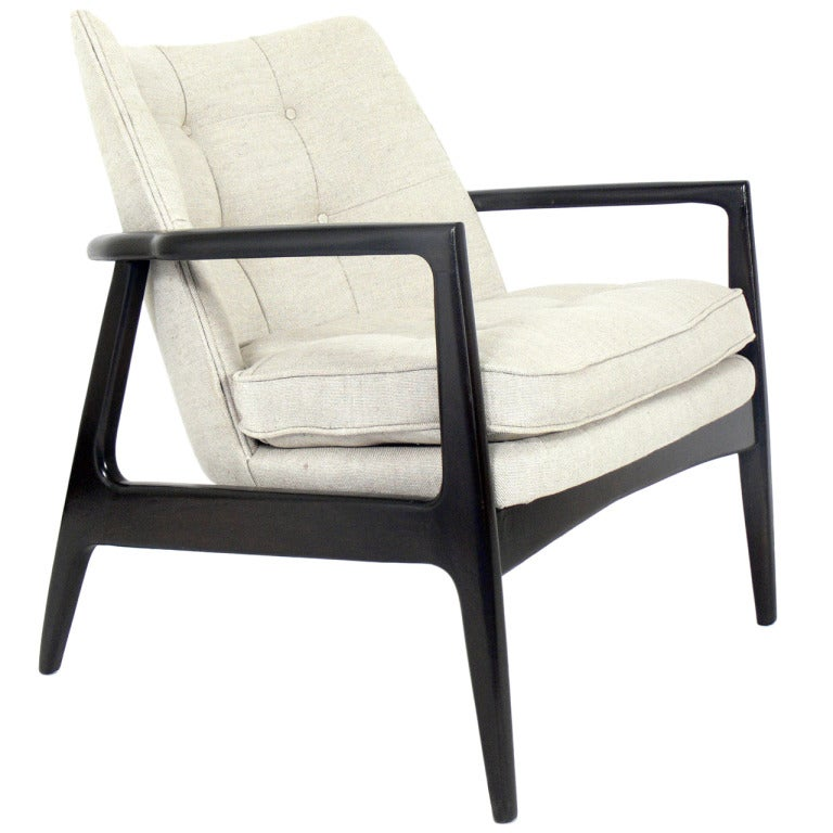 Mid Century Modern Lounge Chair at 1stdibs