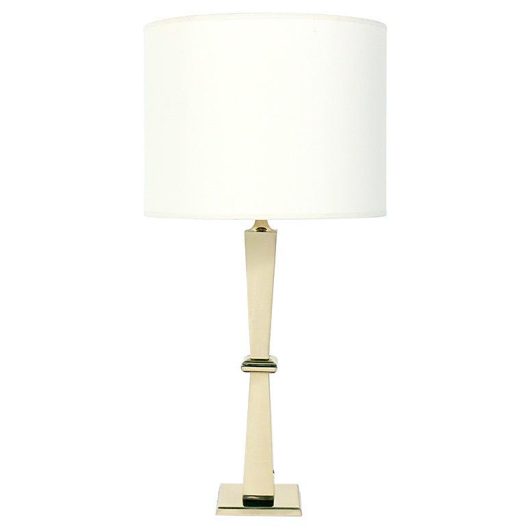Model Elegant Alabaster Bronze Glass And Wood Table  Desk Lamp At 1stdibs
