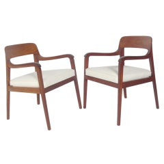 "Pair of ""Riemerschmid"" Arm Chairs by Dunbar"