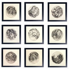 Group of Modernist Black and White Lithographs by A.R. de Ycaza