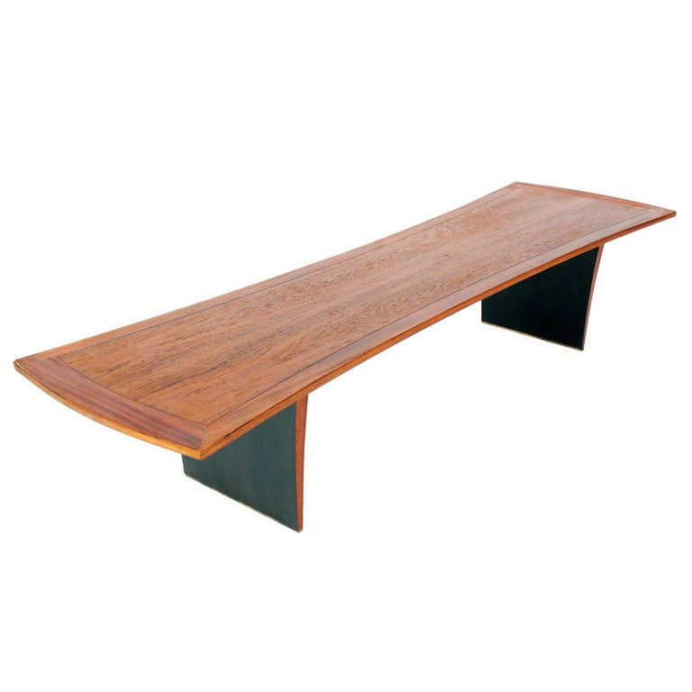 Large Scale Modern Coffee Table By Harvey Probber At 1stdibs