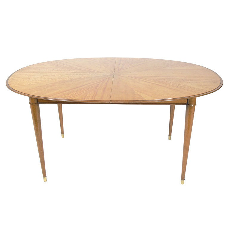 Elegant Modern Dining Table By Tommi Parzinger At 1stdibs