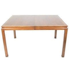 Dining Table with Subtle Asian Design by Edward Wormley Dunbar