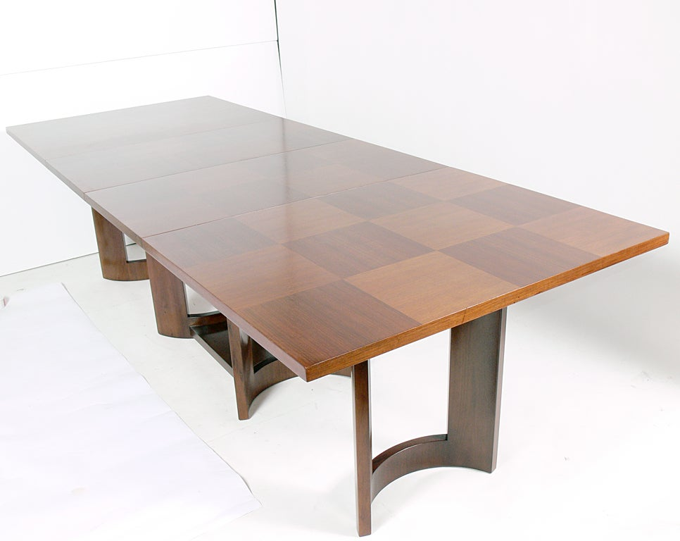 Clean lined modern dining or conference table for sale at for Modern dining tables sale
