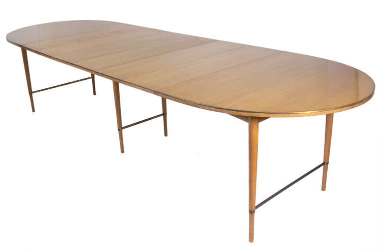 Paul McCobb Connoisseur Group Dining Table Seats 12 At 1stdibs