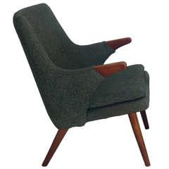 Danish Modern Armchair in the Manner of Hans Wegner