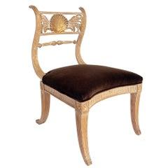 Curvaceous Klismos Chair