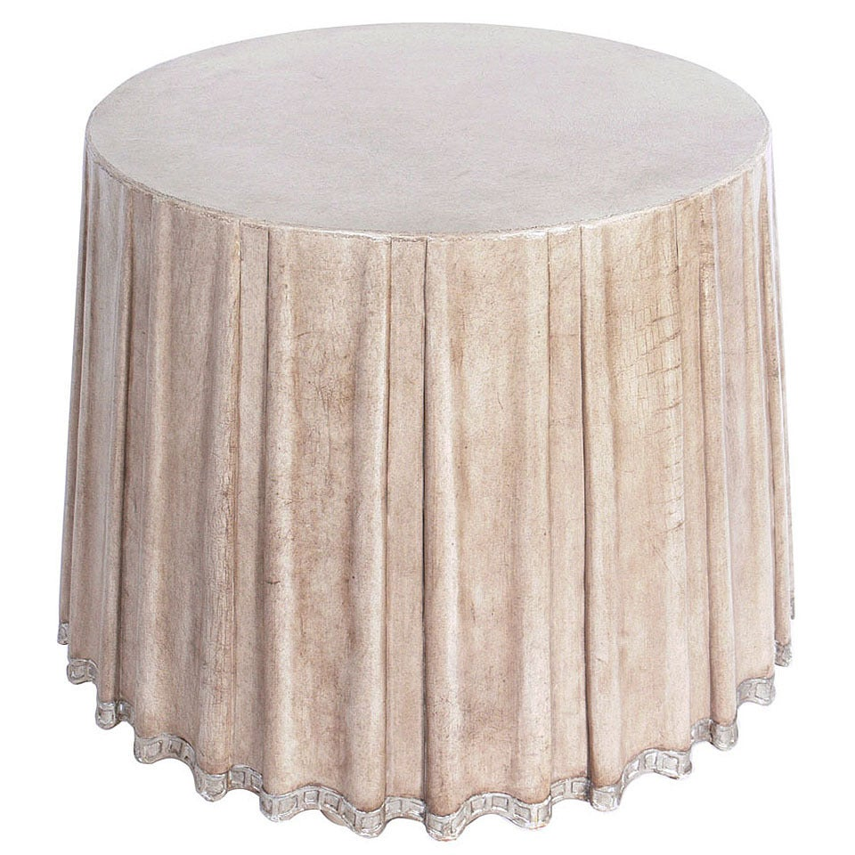 Elegant Leather Dd Center Table By Marge Carson 1