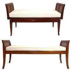 Selection of Modern Benches with Curvaceous Legs