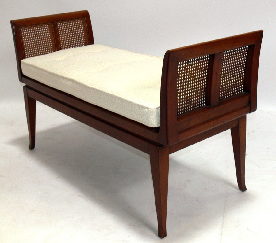 Selection of Modern Benches with Curvaceous Legs In Good Condition For Sale In Atlanta, GA