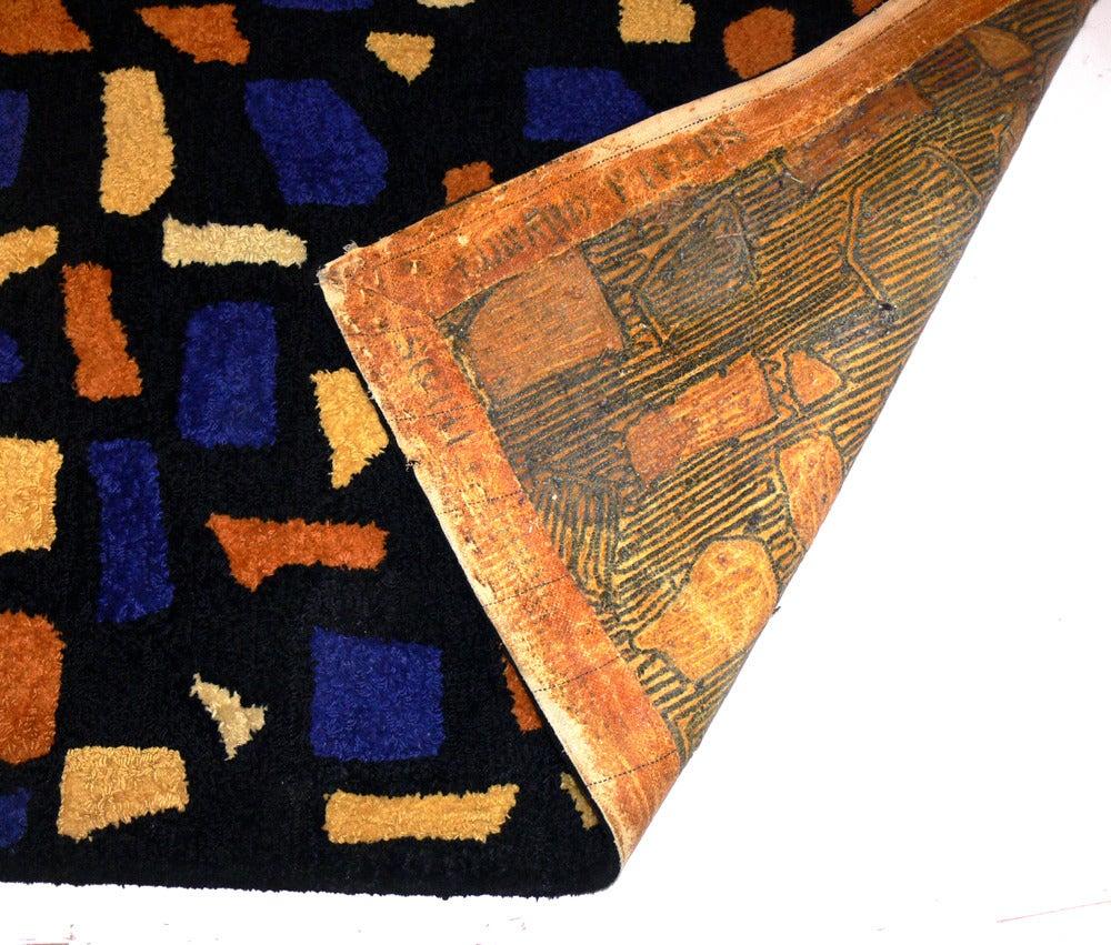 Modernist Wool Rug Designed By Edward Fields At 1stdibs