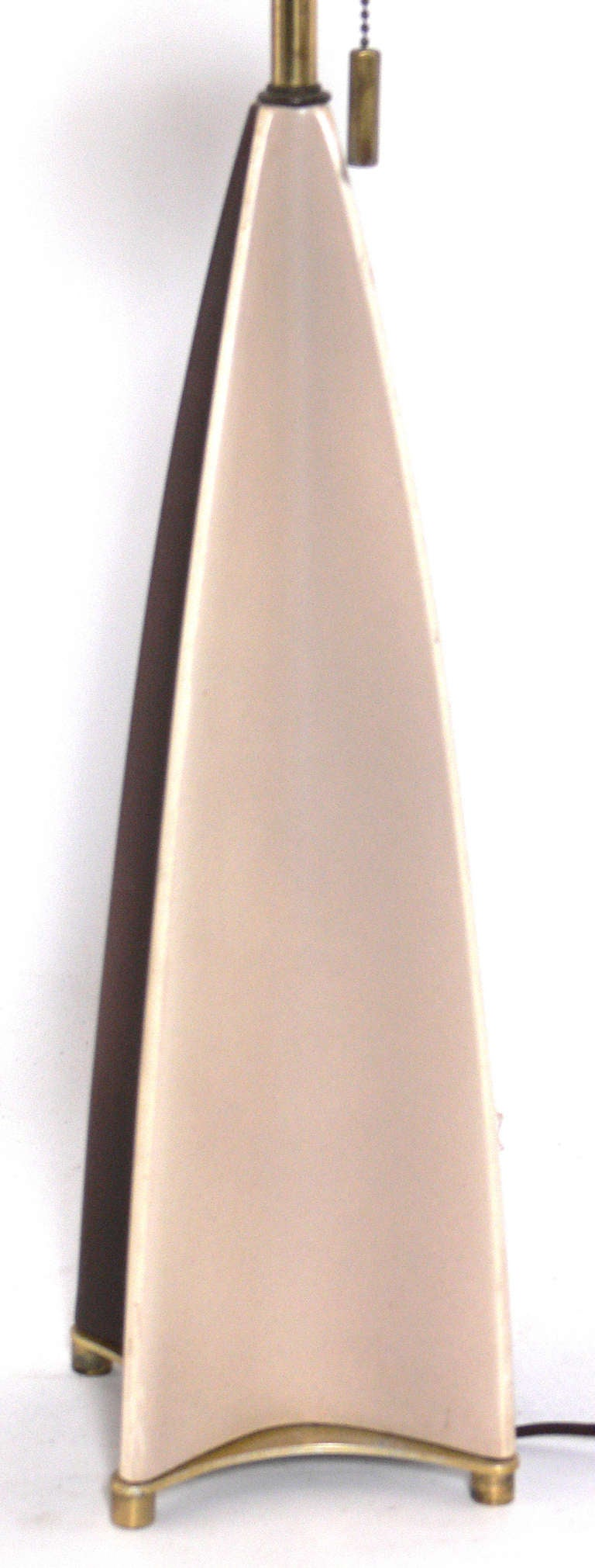 This pair of gerald thurston floor lamps is no longer available - Sculptural Ceramic Lamps By Gerald Thurston At 1stdibs