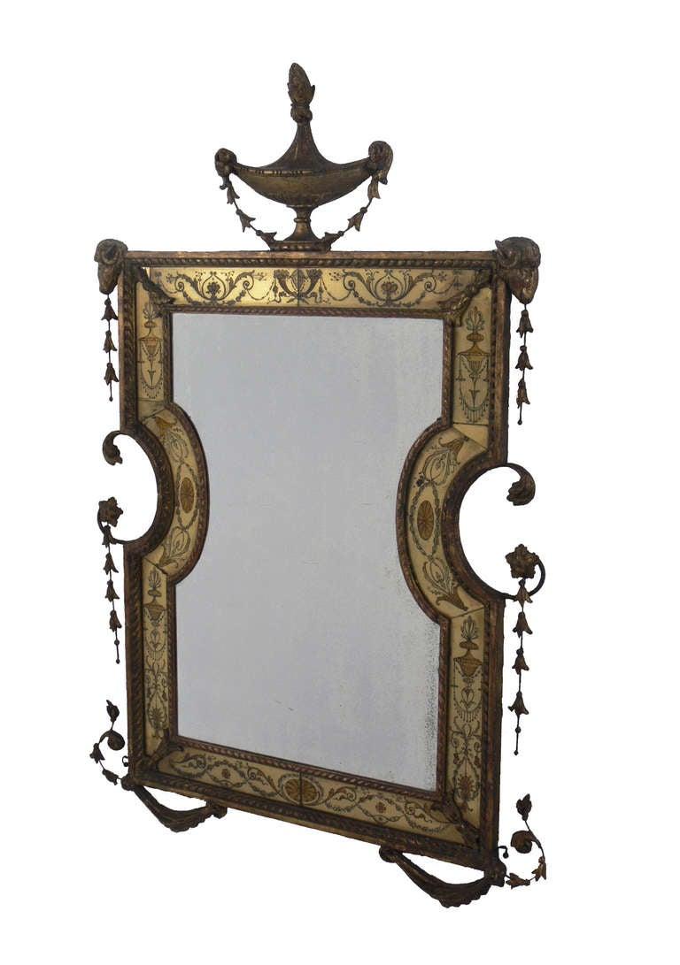 Elegant venetian mirror for sale at 1stdibs for Elegant mirrors