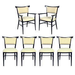 Set of Six Dining Chairs designed by Paul McCobb