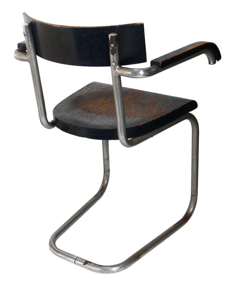 Very Early Modernist Chair By Mart Stam For Thonet 3