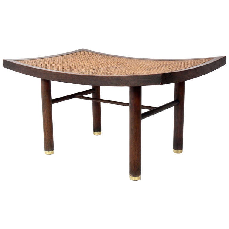 Modernist Asian Form Stool Designed By Michael Taylor For