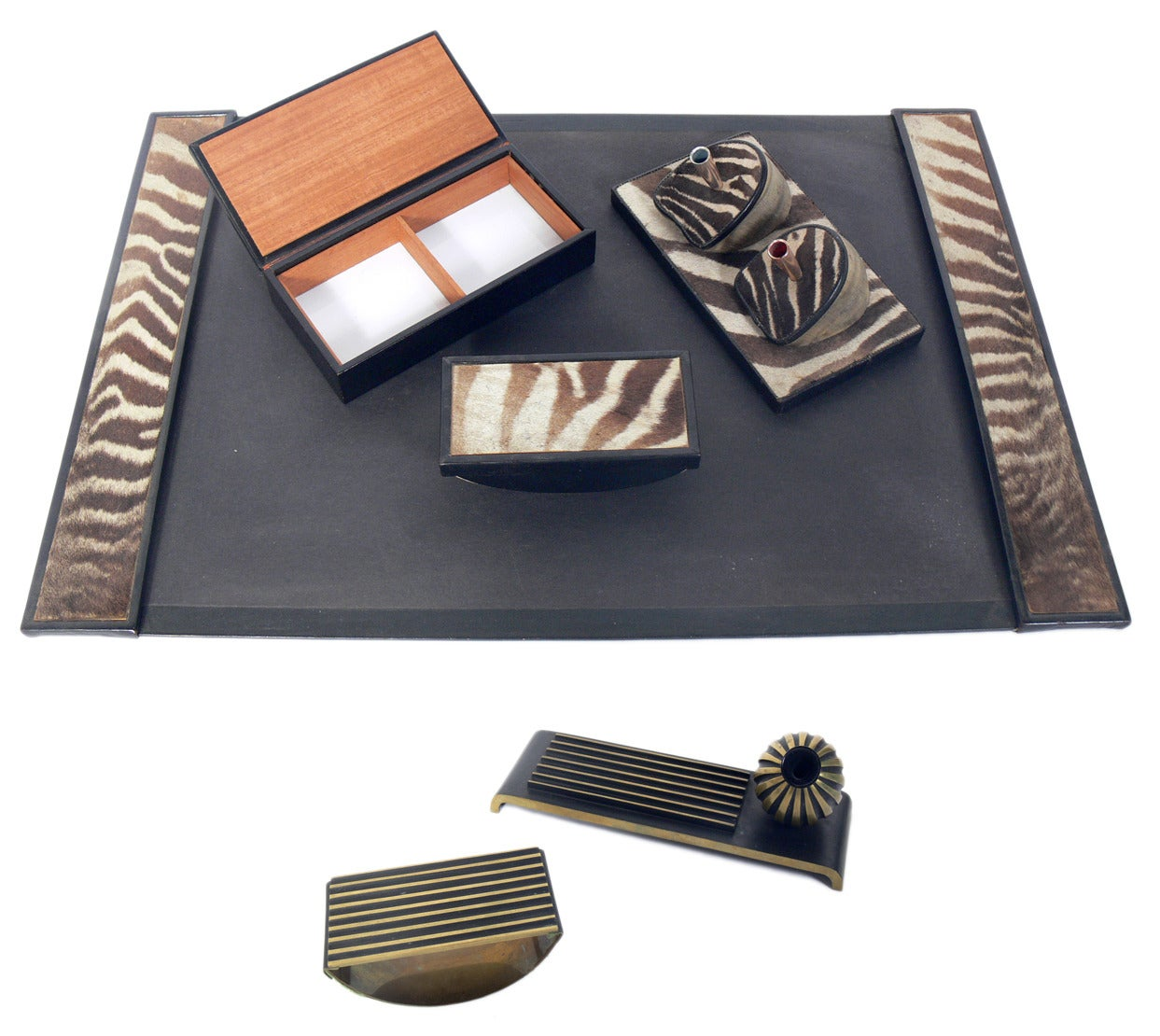 Selection of desk accessories for sale at 1stdibs - Decorative desk organizers ...