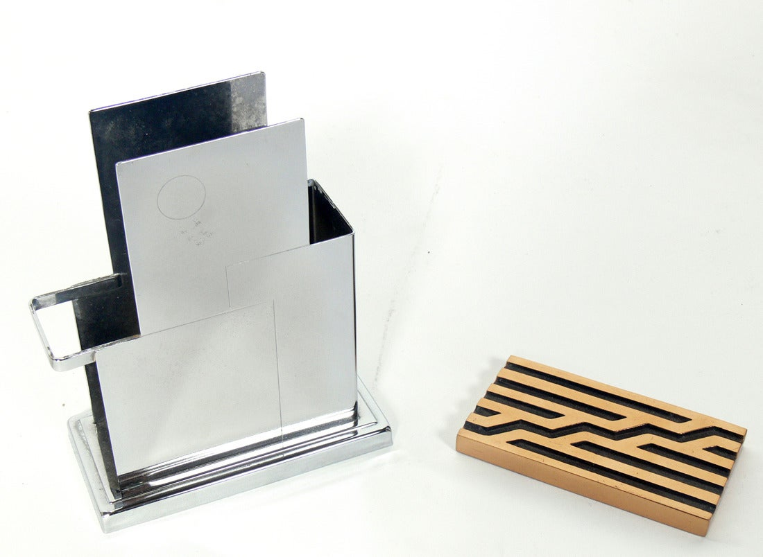 Selection of desk accessories for sale at 1stdibs - Desk organizers and accessories ...