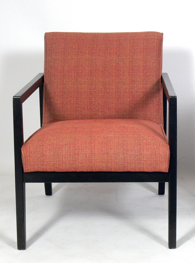 Beautiful Pair Of Dunbar Lounge Chairs 3