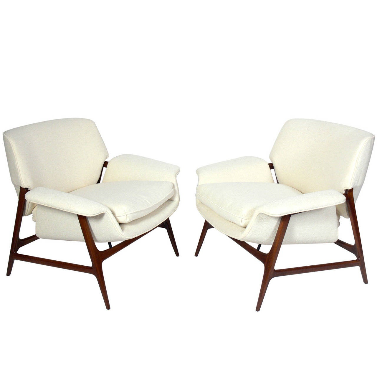 this pair of danish modern lounge chairs is no longer available