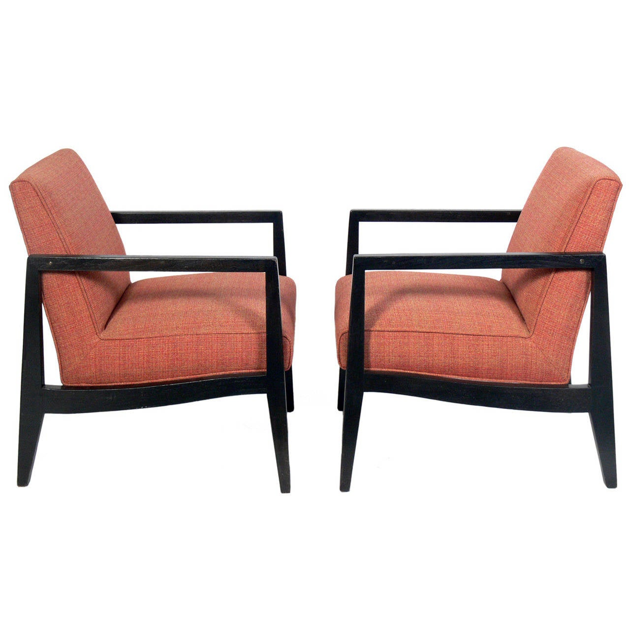 Pair Of Dunbar Lounge Chairs 1