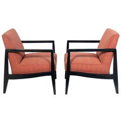 Pair of Dunbar Lounge Chairs