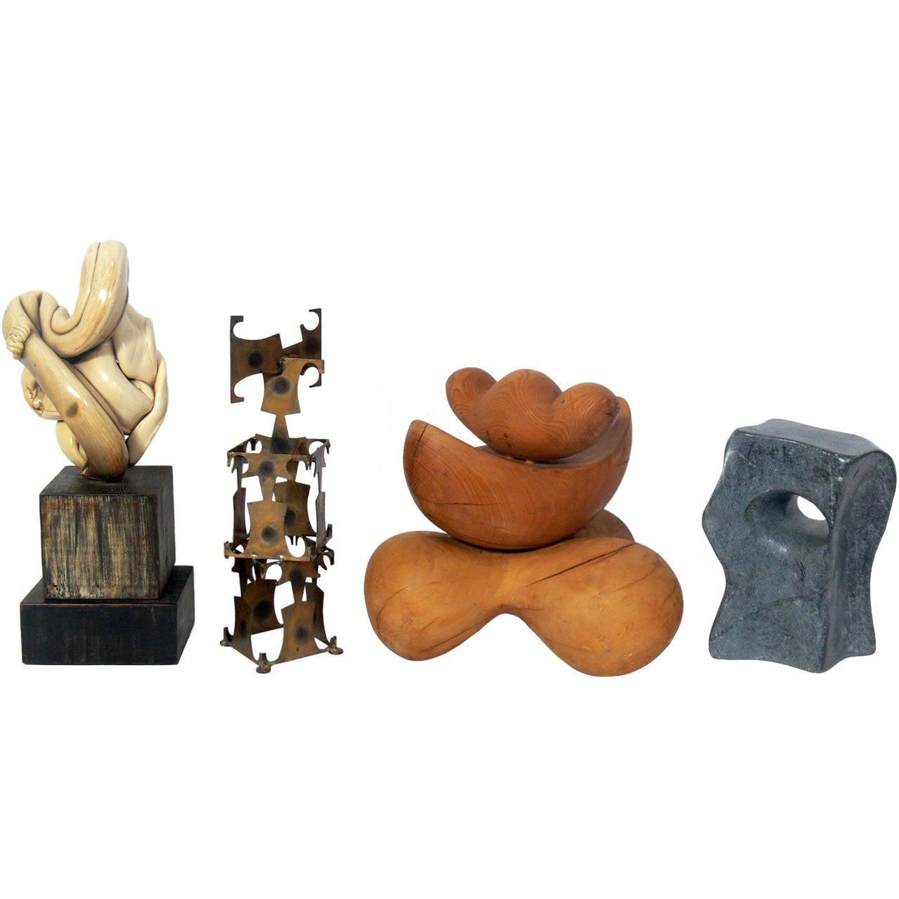 Group of Modernist Sculptures