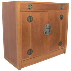 Asian Influenced Cabinet or Credenza by Dunbar