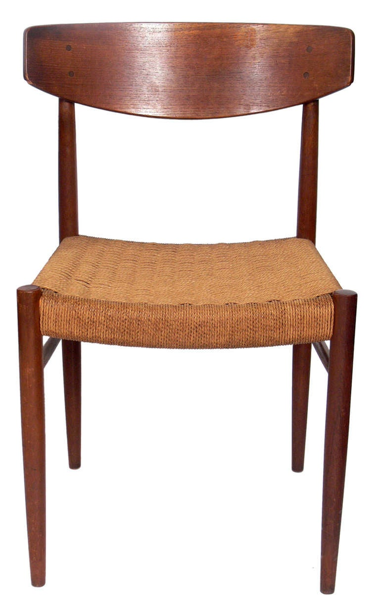 Danish Modern Teak Desk And Chair At 1stdibs