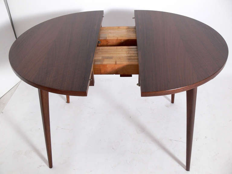 modern dining table by bertha schaefer seats 4 10 at 1stdibs