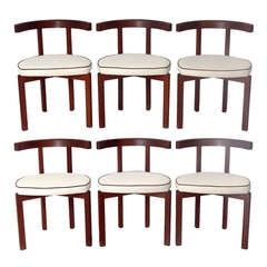 Set of Six Danish Modern Dining Chairs in the manner of Ole Wanscher