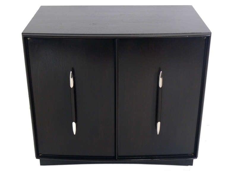 Credenza Dark Brown : T.h. robsjohn gibbings credenza or cabinet for sale at 1stdibs