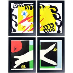 Selection of Vibrant Henri Matisse Jazz Series Lithographs