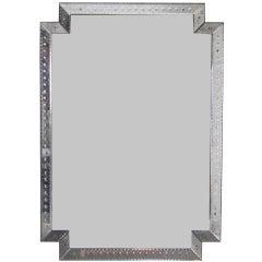 Monumental Venetian Mirror circa 1940's