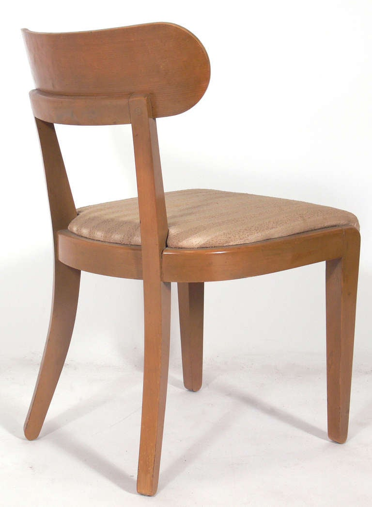 Set Of Six Dining Chairs Designed By Edward Wormley For Drexel 3