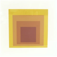 Josef Albers Homage To The Square Screenprint