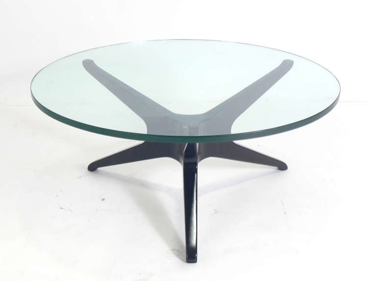 Vladimir Kagan Trisymmetric Coffee Table At 1stdibs