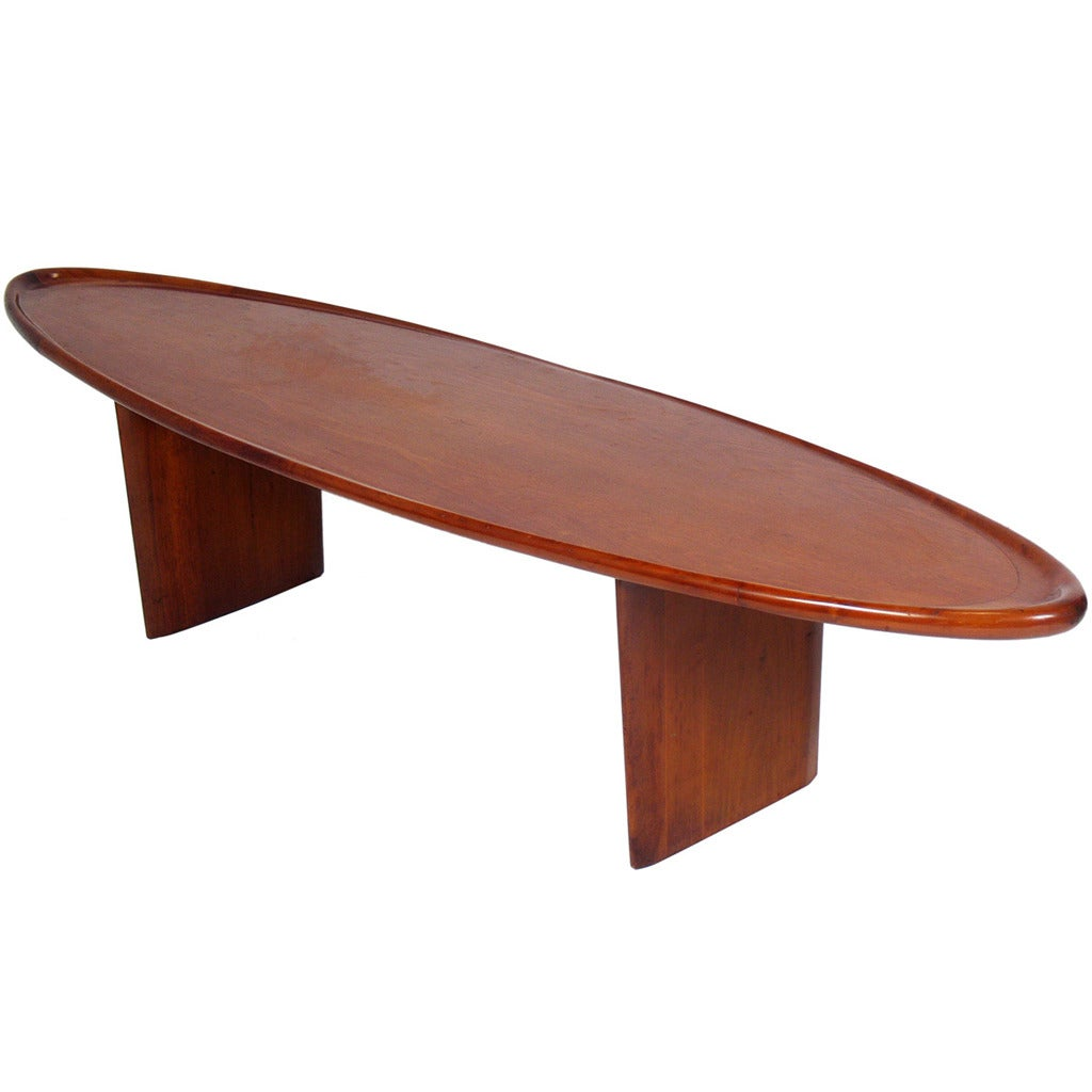 Surfboard Coffee Table Designed By T H Robsjohn Gibbings