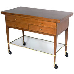 Bar or Serving Cart by Paul McCobb