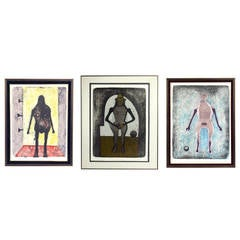 Selection of Modernist Lithographs by Rufino Tamayo
