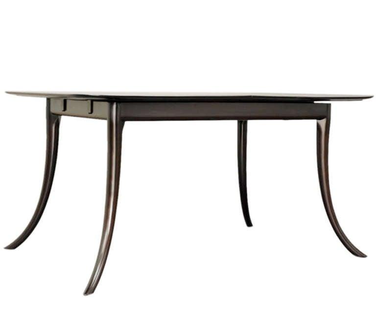 Klismos Leg Dining Table by T H Robsjohn Gibbings For  : dininggibbysaberleg2l from www.1stdibs.com size 768 x 675 jpeg 17kB